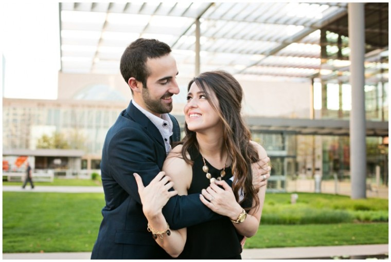 Swan Photography, affordable DFW wedding photographer, DFW wedding photographer, natural light photography, Dallas engagement session, BOHO engagement session, bohemian engagement session, classy engagement session, Dallas arts district engagement session, Dallas engagement session, Spring engagement session, love