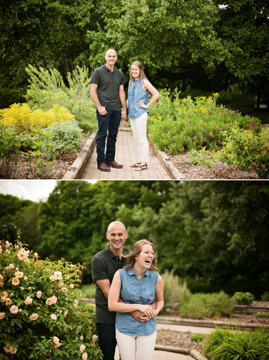 Lainey mark a fort worth botanic garden engagement Fort worth botanical gardens wedding