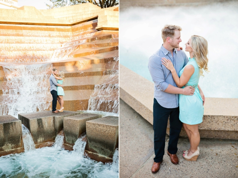 Swan Photography, DFW Wedding Photographer, Fort Worth Water Gardens, Fort Worth Water Gardens Engagement session, Fort Worth Photographer, Benbrook Photographer, Dallas photographer, Wedding Photography, Texas Wedding Photographer, Natural Light Photography, Urban engagement session, spring engagement session